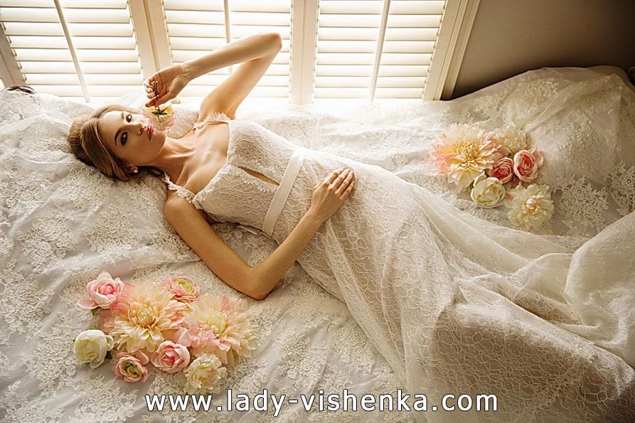 Lace wedding dress 2016 - Olia Zavozina