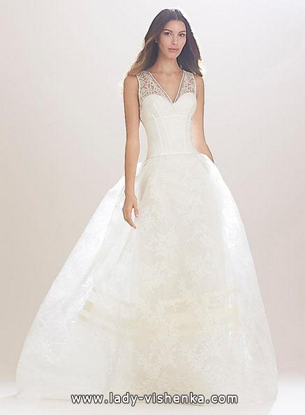 Long lace wedding dress 2016 - Carolina Herrera