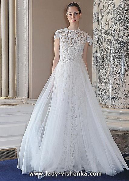 Long lace wedding dress 2016 - Christos Costarellos