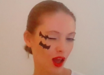Bat Halloween Makeup tutorial