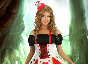 Queen of Heart Halloween Costume