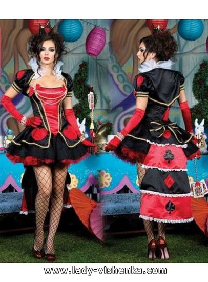 Sexy Halloween costume - Queen of Hearts