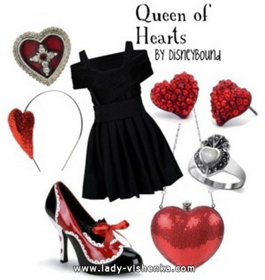 Queen of Hearts diy Halloween costume