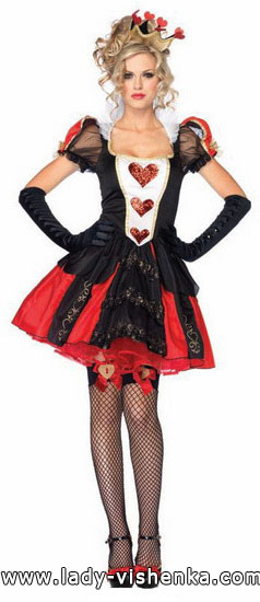 45. Queen of Hearts Costume
