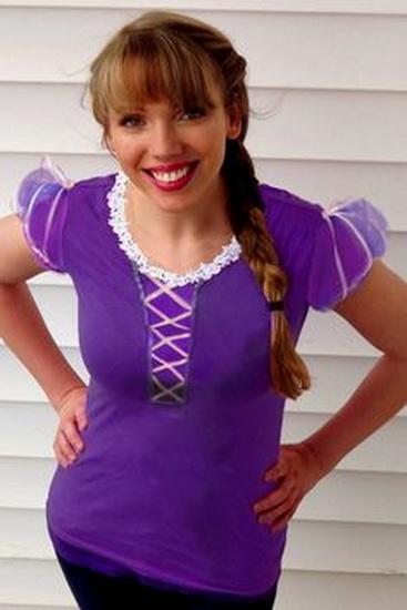10. Rapunzel dress