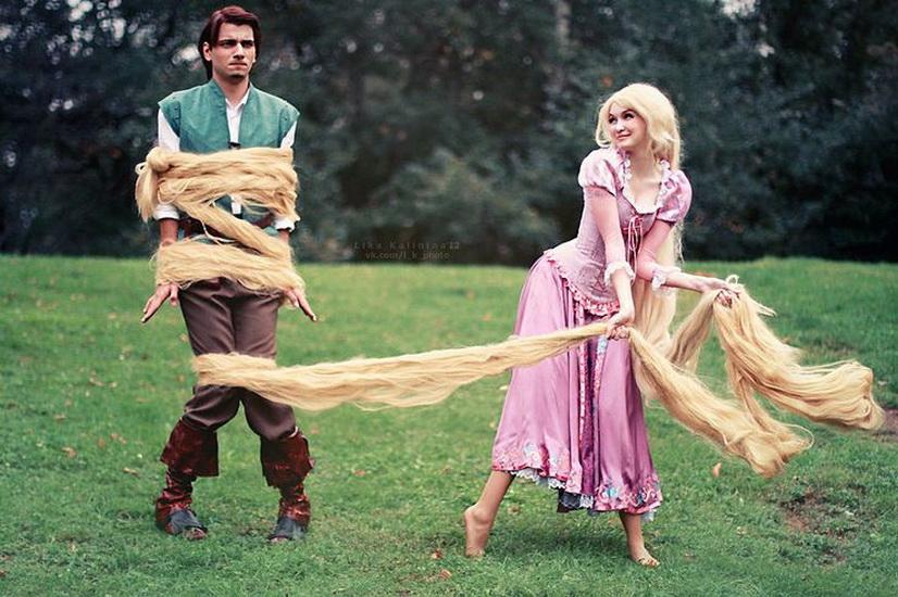 11. Rapunzel dress