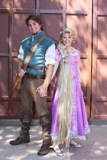 13. Rapunzel dress