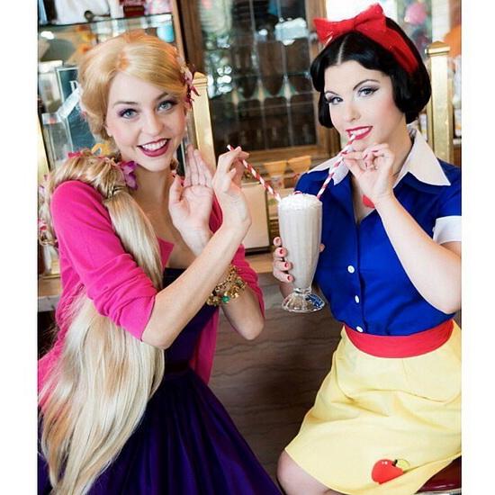 16. Rapunzel dress