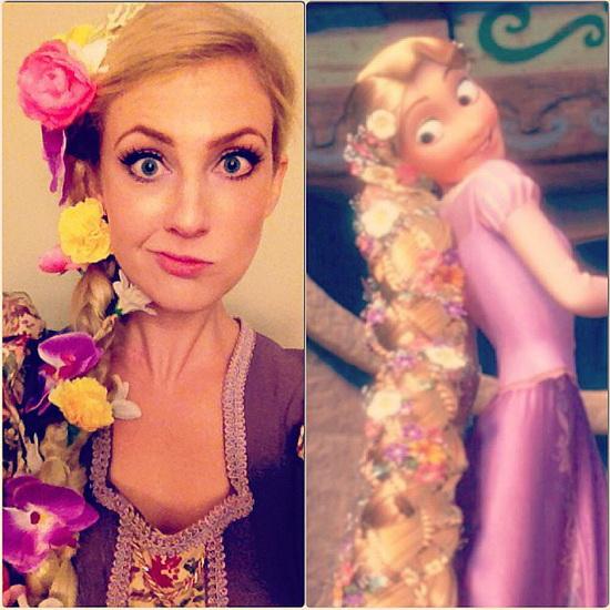 17. Rapunzel dress
