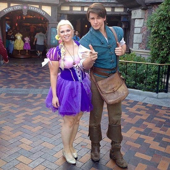 19. Rapunzel dress