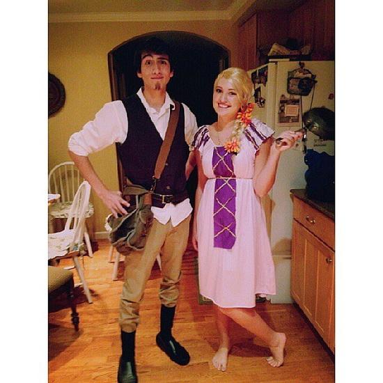 21. Rapunzel dress