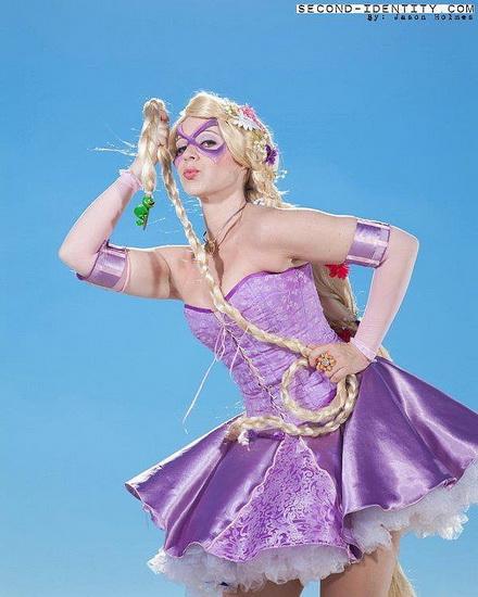 23. Rapunzel dress