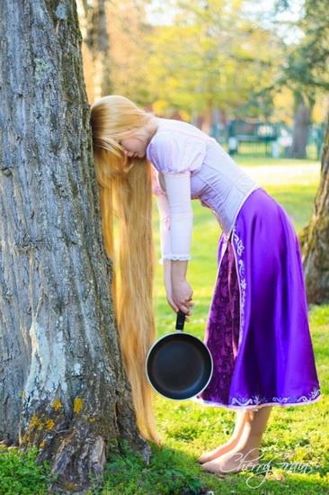 3. . Rapunzel dress