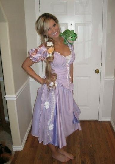 4. Rapunzel dress