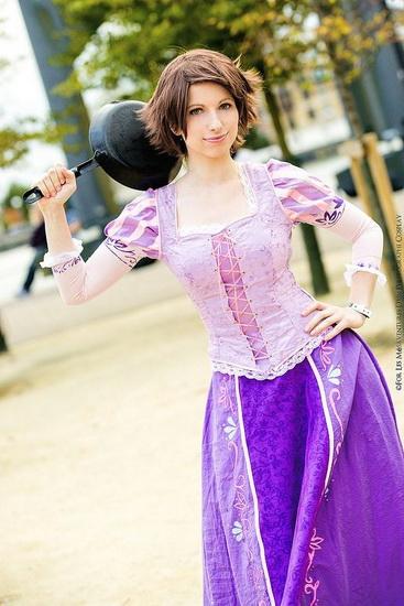 6. Rapunzel dress