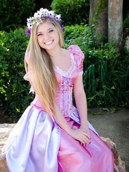 7. Rapunzel dress