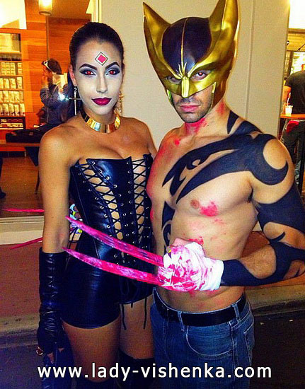 7. Sexy Couples Halloween costumes