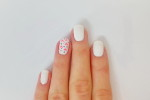 Simple hearts nail art + video