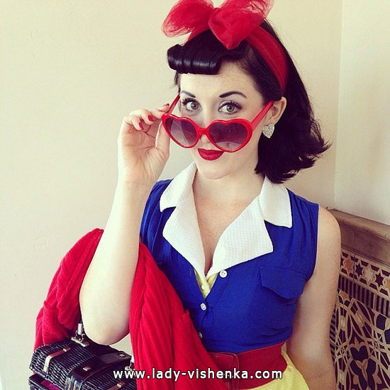 Snow white for Halloween