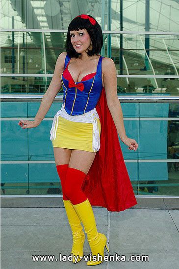 Snow white superhero Halloween costume