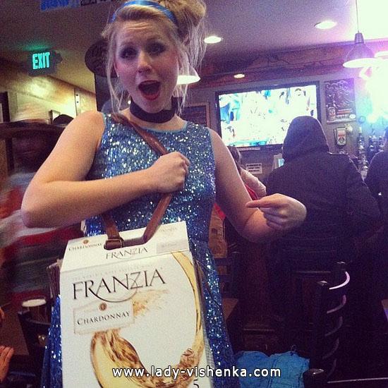 Funny Snow white Halloween costume