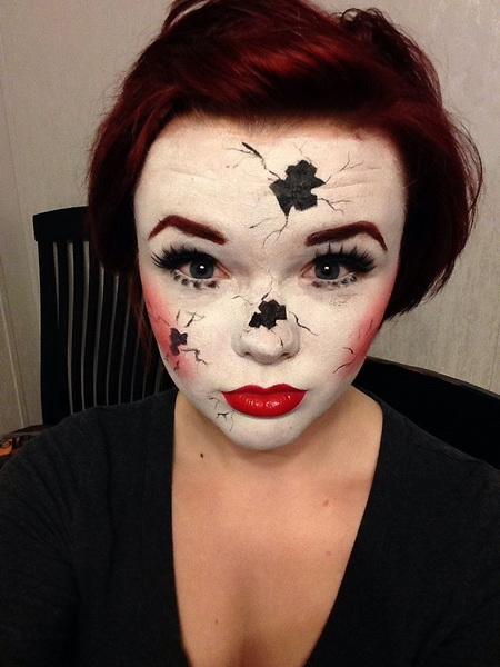 7. Scary Halloween Makeup