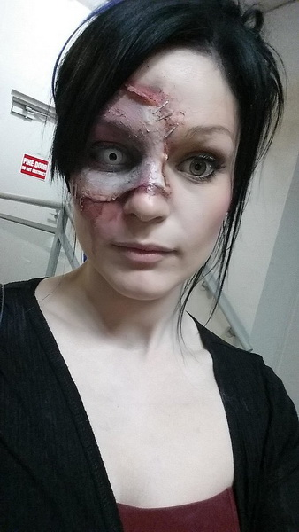 11. Scary Halloween Makeup