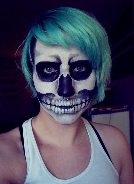 14. Scary Halloween Makeup