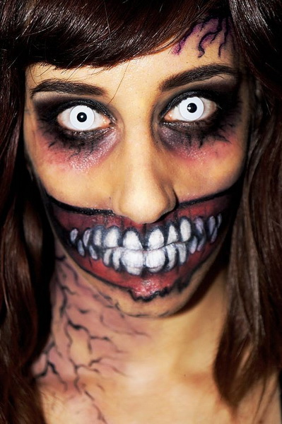 21. Scary Halloween Makeup