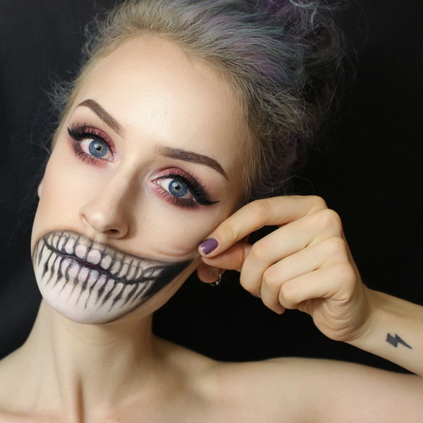 24. Scary Halloween Makeup