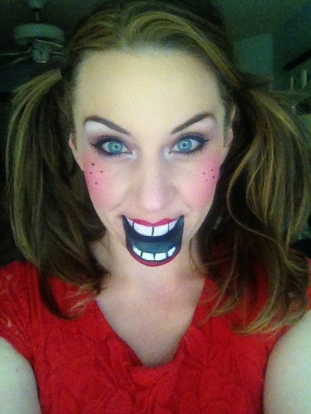 27. Scary Halloween Makeup