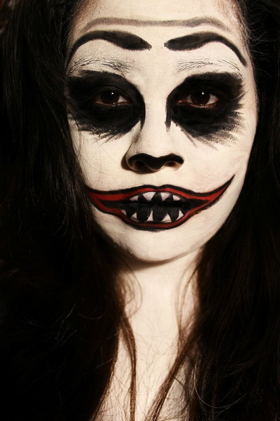 30. Scary Halloween Makeup