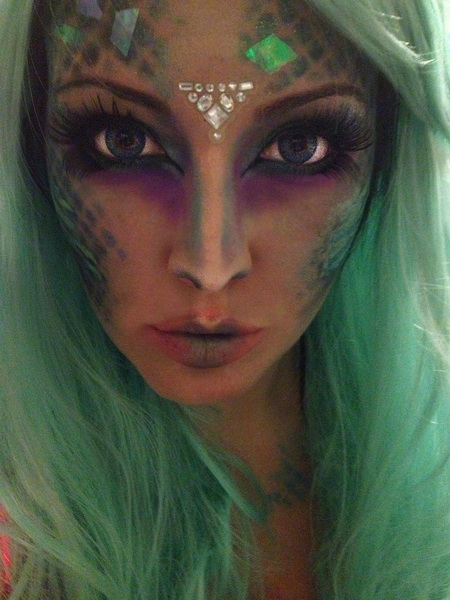 46. Scary Halloween Makeup