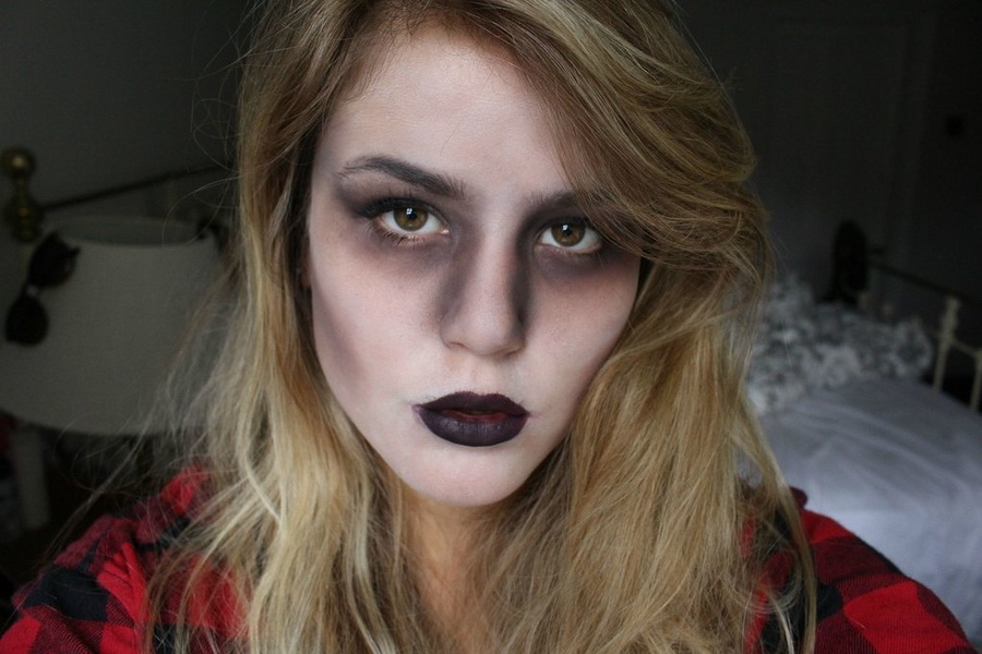 54. Scary Halloween Makeup