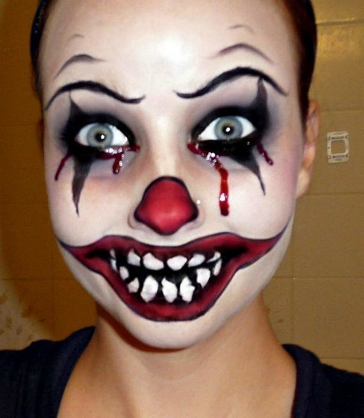 3. Scary Halloween Makeup