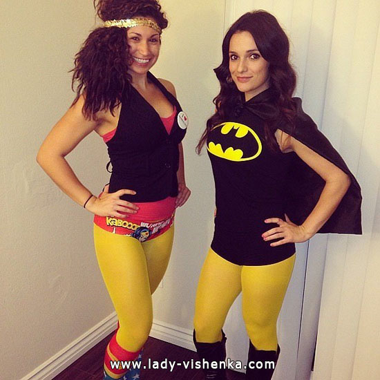 Batman Girl Halloween Costume for women