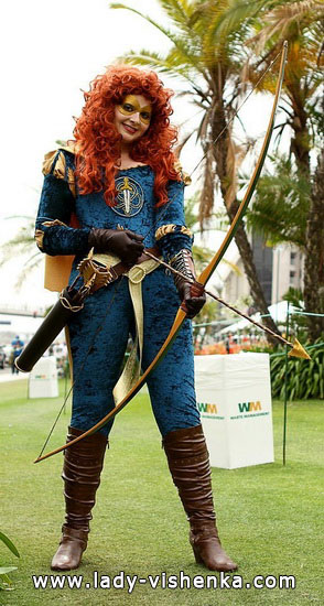 Super Merida Halloween Costume