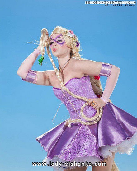 Super Rapunzel Halloween Costume