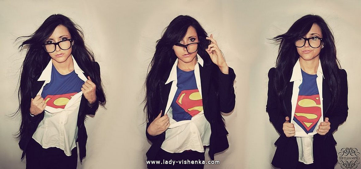 Super girl Halloween Costume for adults