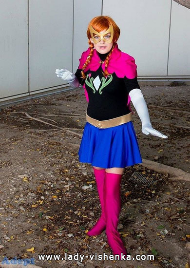 Super Anna Halloween Costume