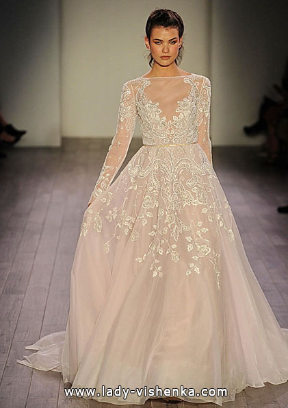 Wedding dresses with lace sleeves 2016 - Hayley Paige