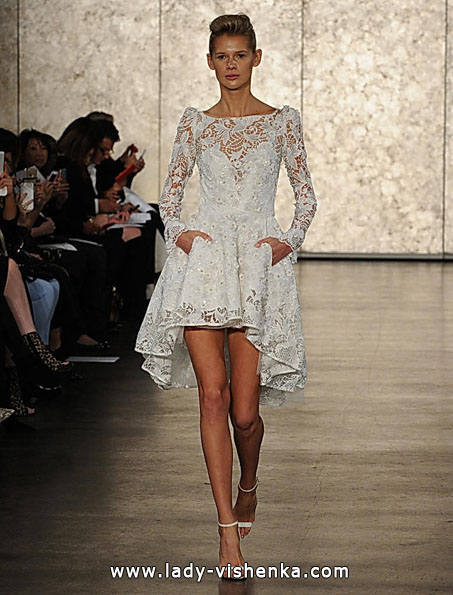 Wedding dresses with lace sleeves - Inbal Dror