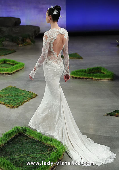 Wedding dresses with lace sleeves 2016 - Ines Di Santo