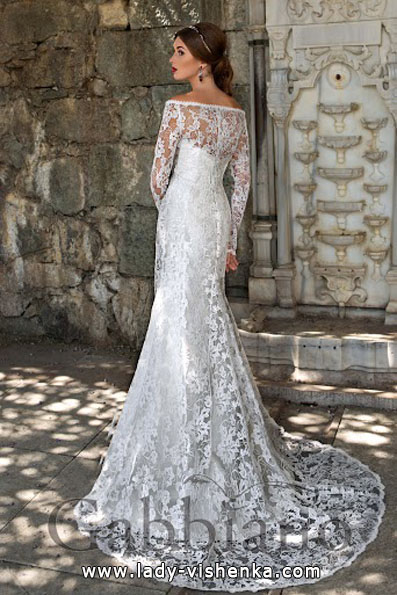 Wedding dresses with lace sleeves 2016 - Gabbiano