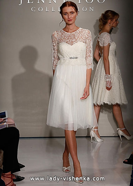 Wedding dresses with lace sleeves - Jenny Yoo