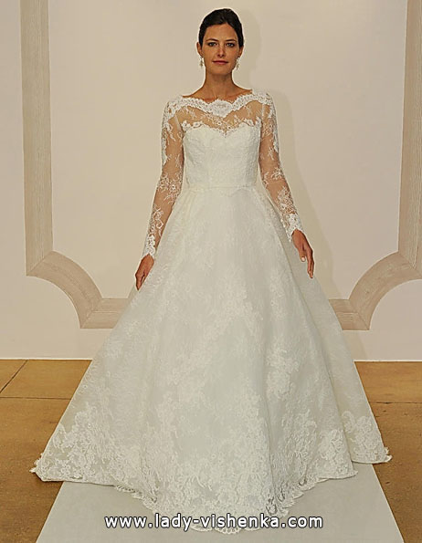 Wedding dresses with lace sleeves Judd Waddell