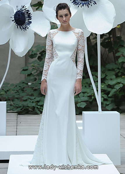 Wedding dresses with lace sleeves - Lela Rose