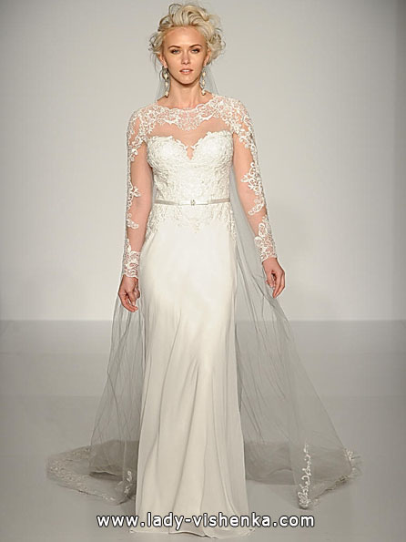 Wedding dresses with lace sleeves - Maggie Sottero