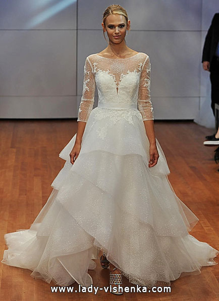 Wedding dresses with lace sleeves Rita Vinieris