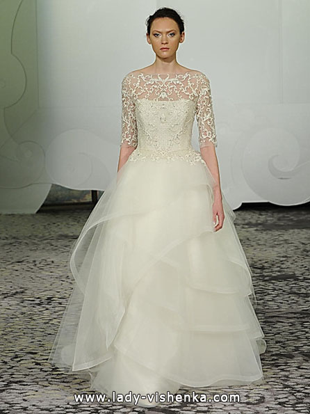 Wedding dresses with lace sleeves - Rivini